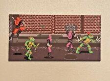 Teenage Mutant Ninja Turtles: Turtles in Time Super Nintendo Scene Canvas Print