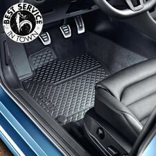 VW Gummi Fußmatten, vorne (Golf 7 VII) Original Volkswagen Zubehör - 5G1061502