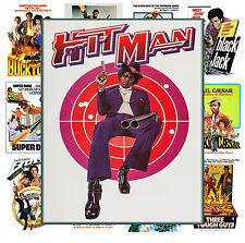 "Mini Posters [13 posters 8""x11""/A4] Blaxploitation Hitman Movie Vintage MP468"