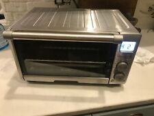 BREVILLE TOASTER OVEN MODEL BOV650XL Compact Smart Oven SS Digital Used twice
