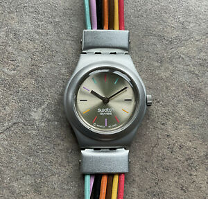SWATCH Women's Watch Irony Multi Color Wire Band AG2003 D-1