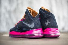 Nike LeBron 10 X EXT Denim sz 9.5 NEW 2013 597806-400 cork hazelnut mint
