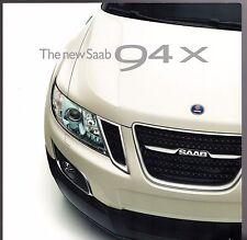 SAAB 9-4 X 2.8 T V6 2010-11 marché du Royaume-Uni aperçu dépliant Vente Brochure