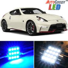9 x Premium Blue LED Lights Interior Package Kit for 2009-2017 Nissan 370Z +Tool