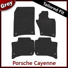 PORSCHE Cayenne 2010 2011 2012 montato su misura moquette tappetini Grigio