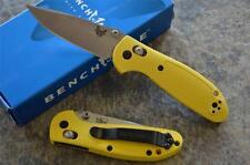 Benchmade 556-YEL Mini Griptilian Folding Axis Lock Knife w/ 154CM Blade