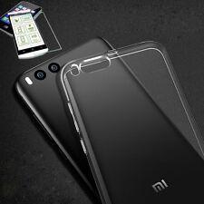 étui en silicone Transparent Etui + 0,3 H9 verre blindé pour Xiaomi MI6 coque