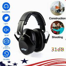 Ear Muffs Hearing Foldable Noise Reduction 31dB Protection Gun Shooting Range