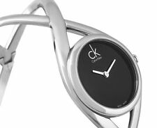 Calvin Klein Enlace Watch - Black/Silver--Model no.: K2L23102