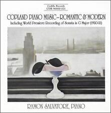 Copland Piano Music - Romantic & Modern, New Music