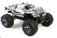 Custom Body Zebra for Traxxas Summit / Slash 1/10 Truck Car Cover Shell 1:10