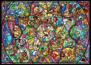 Ten-D500-457 Disney All-Star Stained-Glass Windows (all Characters)