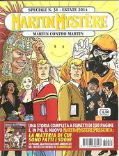 MARTIN MYSTERE SPECIAL NR.31-ESTATE 2014-MARTIN CONTRO MARTIN-SERGIO BONELLI