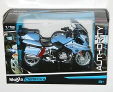 Maisto - 'POLIZIA' BMW R 1200 RT (Blue) - Police Motorbike Model Scale 1:18
