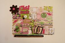 Candy Lover Sweets Chipboard Mini Book Album Kit (Scrapbook)