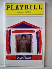 THE CAPEMAN Playbill PAUL SIMON / RUBEN BLADES / MARC ANTHONY Flop NYC 1997