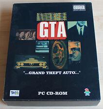 GTA 1 Grand Theft Auto (PC, 1997, Big-Box)