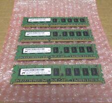 4 X Micron Technology 2 GB Server Ram DDR3 SDRAM - MT18JSF25672AZ- 1G4F1