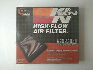 K&N Performance Reusable Air Filter 2007-2020 F150 F250 F350 F450 F550 V8 V10