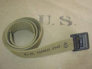 US Army M36 Trouser Belt Em Open Fieldtrouser Field Pants Chino M37 M43 Hbt WW2