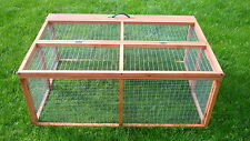 RABBIT GUINEA PIG RUN CAGE WOODEN LARGE FOLDING COLLAPSIBLE READY ASSEMBLED RUNS