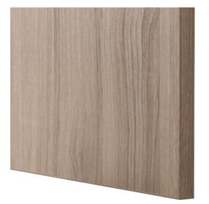 IKEA LAPPVIKEN Door/drawer front, walnut effect light gray 23 5/8x15 23x15 BESTÅ