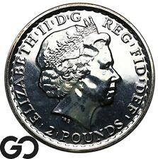 2013 United Kingdom Britannia Silver Bullion, 1 OZ Fine Silver