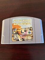 Star Wars Episode I Racer Nintendo 64 N64 Pins Cleaned & Tested Authentic