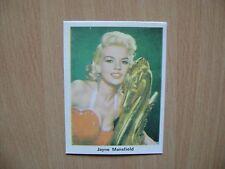 Jayne Mansfield - By  Imperial krsko 1968 Movie star vintage bubblegum card