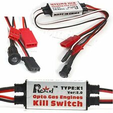Rcexl Opto Gas Engine Kill Switch With Futaba Plug DLA DLE DA Ignition Cut Off