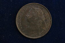 1891 Great Britain. Farthing. Collectible grade.