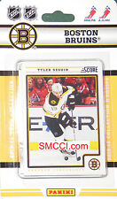 Boston Bruins 2012 13 2013 Score Hockey Factory Team Set Lucic Seguin Bergeron