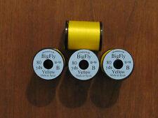 Fly Tying Uni Big Fly Thread- Yellow- 80yds.