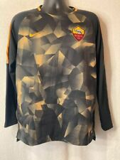 More details for nike - as roma training football pullover sweatshirt - size large