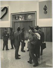 Italia, Academia Modena. Esercito  Vintage silver print Tirage argentique  2