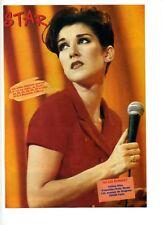 Publicité/photographie avec Céline Dion dans les années 1990