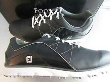Footjoy FJ MyJoys PRO/SL Golf Shoes 53200 Custom 2019 Black 15 XW Extra Wide