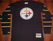 Mitchell Ness Sporting NFL AFC Pittsburgh Steelers Black Throwback Jersey M