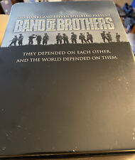 Band of Brothers (Dvd, 2002, 6-Disc Hbo Video Tin Box Set) - War Dvds Tom Hanks