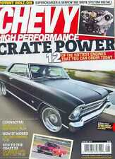 6 Chevy High Performance Mags: 6 issues From 2012 - July to December 2012 (New)