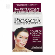 Prosacea Rosacea Treatment Homeopathic Topical Gel Redness relief, clog pores