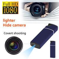 32G 1080P Camera Lighter Hidden USB DV DVR Video Recorder Night Cam Security CA~