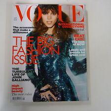 Vogue UK September 2011 Freja Beha Erichsen