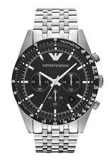 Original Emporio Armani sportivo AR5988,mens NEW chronograph watch.BIG DIAL