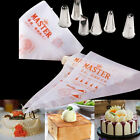 Pastry Piping Icing Bags Disposable Nozzle Set Cupcake Decorating Tool Baking