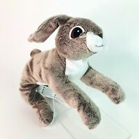 "Ikea Vandring 16"" Hare Bunny Rabbit Plush Soft Toy Stone Grey Comforter Easter"