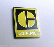 CAT POWER CATERPILLAR TRUCKS HEAVY EQUIPMENT LAPEL PIN BADGE 1 INCH