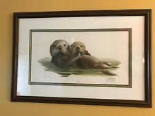 Ray Harm Sea Otter Signed Limited Edition Art Print