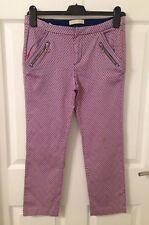 Femmes/Filles ZARA motifs Slim Pantalon raccourci-Taille XS/13-14 ans