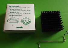 Heat Sink Cooling CPU 486 some Pentium Heatsink SPMP250B Cooler & Clip x 1 box